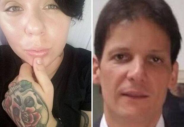 Angustiada e chorosa, suspeita se alega inocente na morte de ex-superintendente em motel
