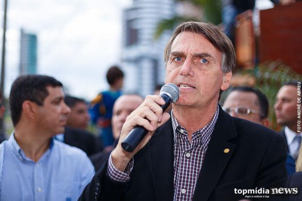 Eu coloquei o apelido de jacaré no Boechat, diz Bolsonaro