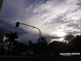 Bom dia! Capital acorda com céu nublado e previsão de chuva já pela manhã