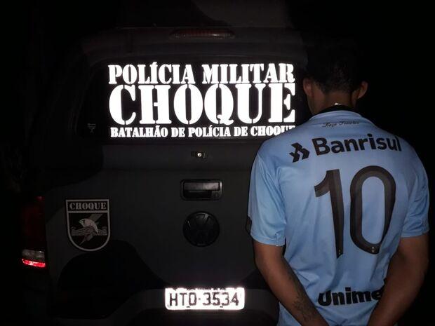 Batalhão de Choque prende traficante foragido no Nova Lima
