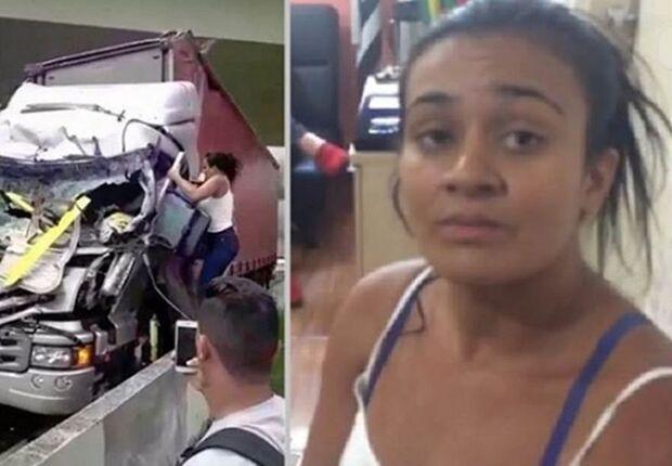 Leiliane: a mulher que salvou uma vida no acidente que matou Boechat
