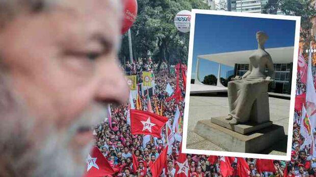 STF proíbe transferência de Lula para penitenciária