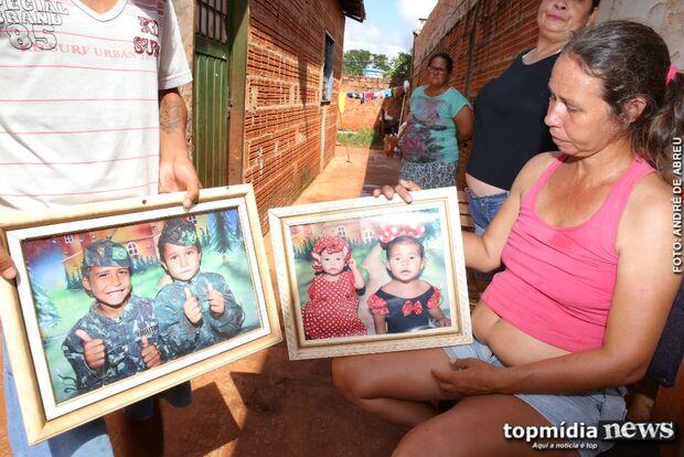 Ainda chorando morte de Kauan, mãe perde guarda de filhos e tem medo deles serem adotados