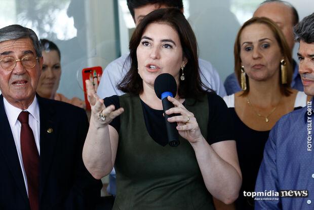 Simone diz que projeto da Previdência é injusto para mulheres e aposta na desaprovação