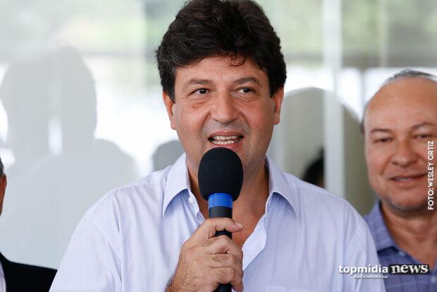 Ministro Mandetta promete recuperação total da organização hospitalar em MS