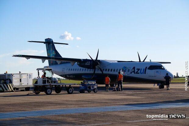 Aeroporto Internacional de Campo Grande funciona normalmente neste sábado