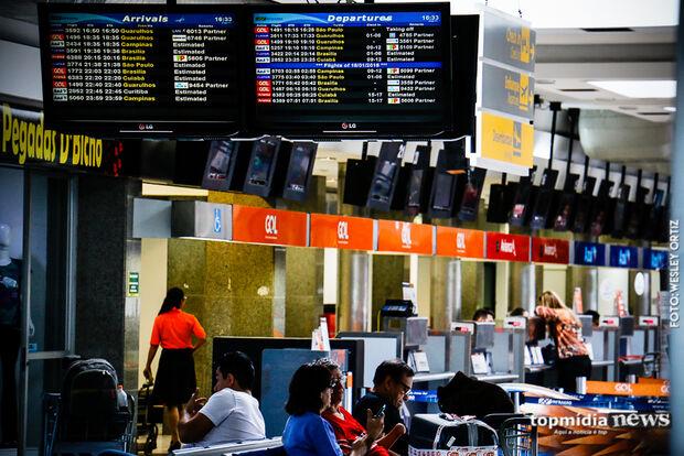 Aeroporto opera normalmente neste domingo