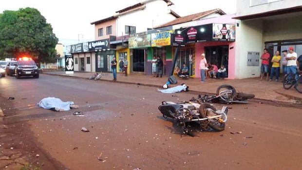 VÍDEO: câmeras de segurança registram acidente que matou duas pessoas em MS