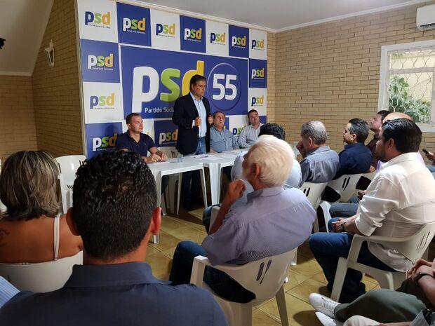 Diretoria do PSD em MS faz renúncia coletiva e anuncia Nelsinho Trad como futuro presidente