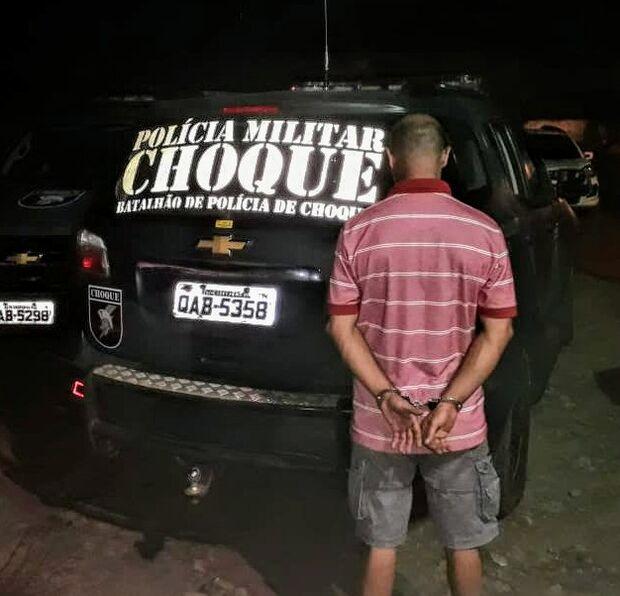Policial Municipal atira em conveniência e é preso em festa de ex-militares