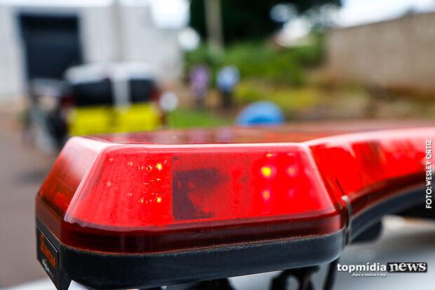 Pedestre embriagado é atropelado e motociclista foge do local do acidente