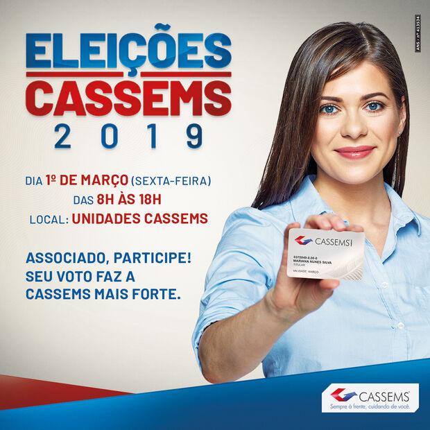 Eleições Cassems acontecem no dia 1º de março