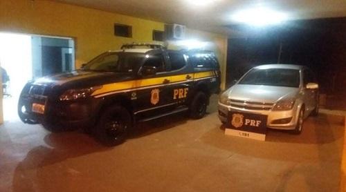 Menor é apreendido na BR-163 com veículo e celular roubado