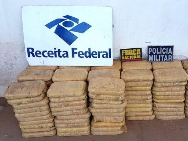 156 kg: Receita Federal flagra carregamento de cocaína na BR-262; 2ª do dia