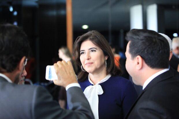Presidente do Senado fecha acordo com PSDB e MDB e garante CCJ para Simone Tebet, diz revista
