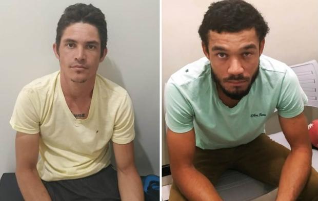 Dois são presos acusados roubar hotel e trancar funcionário em banheiro