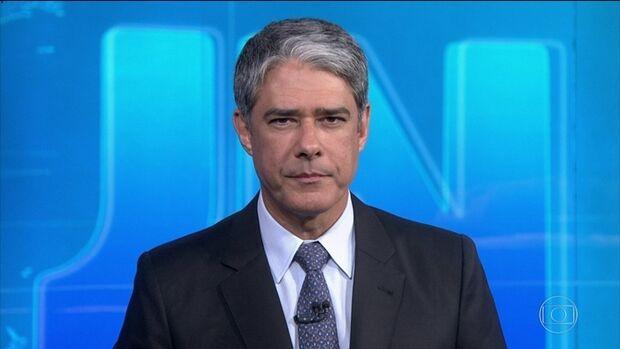Jornal Nacional erra ao citar general Heleno e Bonner pede desculpas aos telespectadores