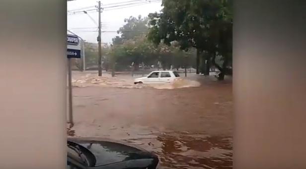 O DIA DEPOIS DE AMANHÃ: vídeos registram cenas de desespero em toda Campo Grande