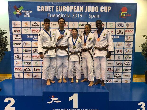 Judoca campo-grandense garante medalha de bronze em torneio na Espanha