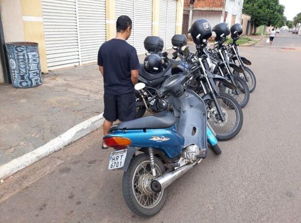 'Negócios inacabados': jovem parcela compra de moto furtada e vai preso por receptação