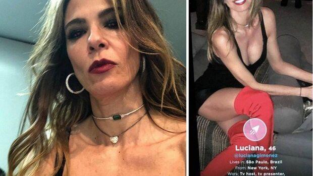 Solteira, Luciana Gimenez diz que usa 'tinder só para milionários'