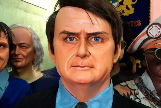 Carnaval: Bolsonaro estaria disposto a oferecer segurança a boneco em sua homenagem