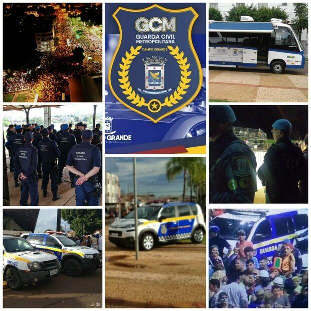 Segurança do Carnaval de Campo Grande é garantida com guardas municipais, PMs e até drone