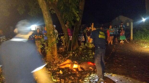 Jovem de 20 anos é morto a golpes de facão na Aldeia Bororó