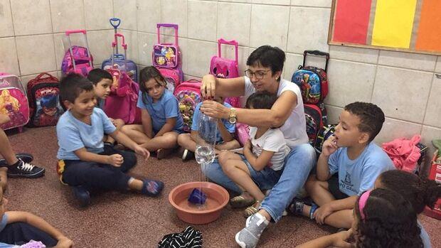 Escola municipal oferece vagas de tempo integral para alunos do Pré e 1º ano