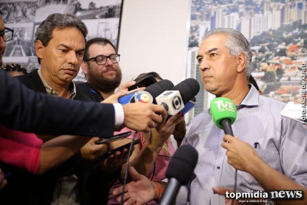 Reinaldo e Marquinhos assinam convênio de R$ 169 milhões para obras de infraestrutura na Capital