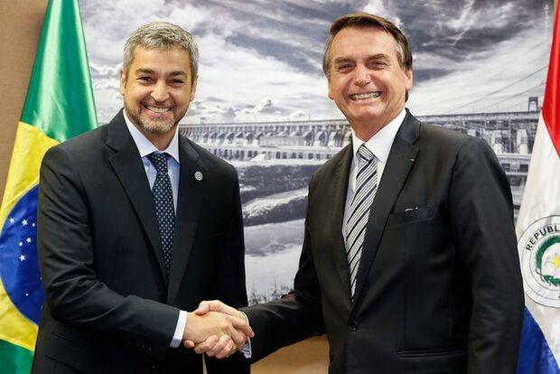 Bolsonaro recebe presidente do Paraguai nesta terça-feira no Palácio do Planalto