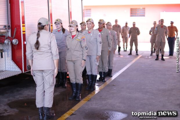 Vencendo barreiras e preconceitos, primeiras bombeiras de MS mostram a força feminina