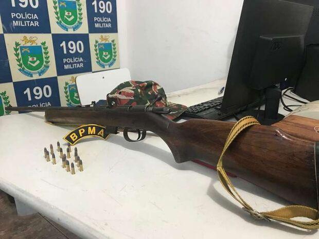 Operação Carnaval: homem é preso com rifle em cidade de MS
