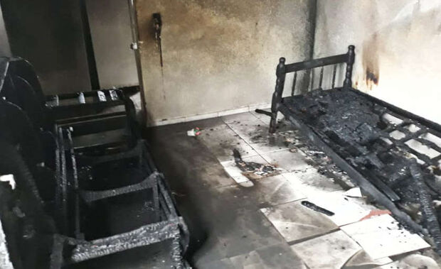 Apartamento é destruído pelo fogo em cidade do MS
