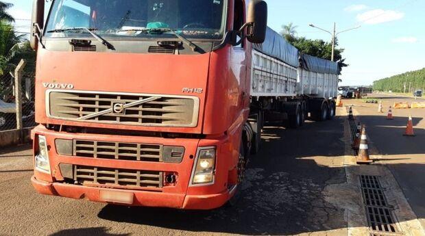 Doce ilusão: motorista é preso pela PRF com 100 kg de cocaína em carga de açúcar