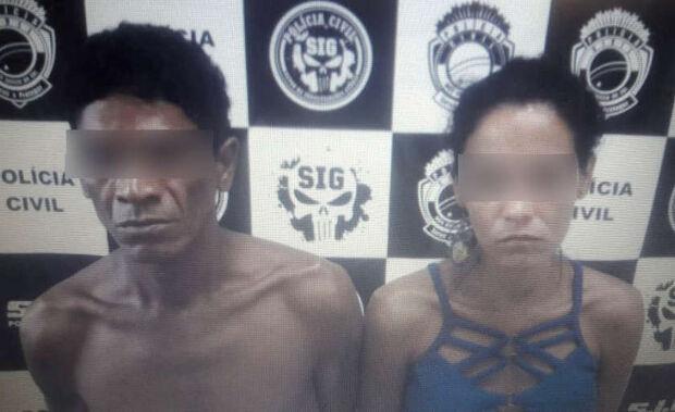 'Algemas da paixão': casal é preso em flagrante por tráfico
