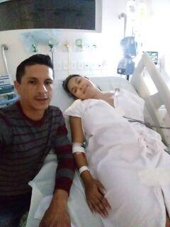 Jovem vítima de leucemia está na UTI e família faz apelo por doação de plaquetas