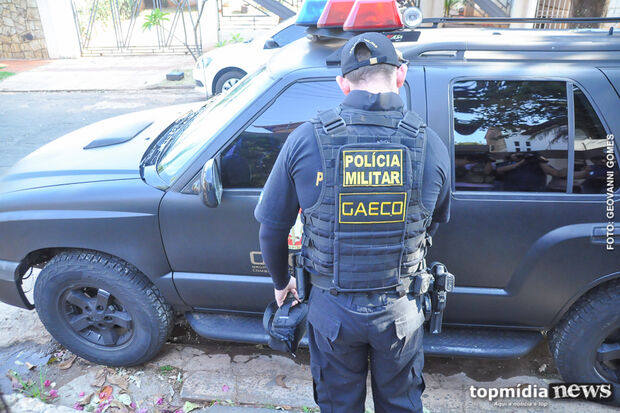 Funcionários de prefeitura e empresários são alvos de operação do Gaeco