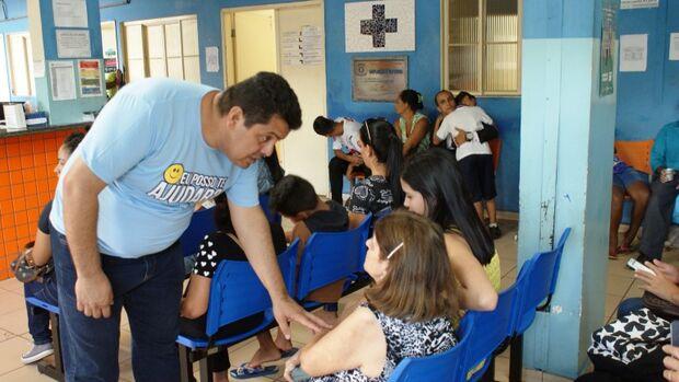 Grupo auxilia no acolhimento a pacientes e no levantamento de necessidades de UPAs e CRSs