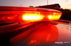 Homem flagra ladrões roubando sua residência e acaba esfaqueado em MS