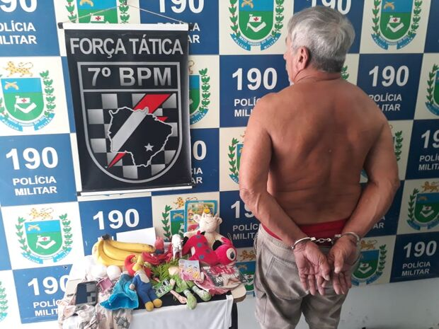 Ação conjunta da Polícia Militar prende idoso por estupro de vulnerável em cidade do MS