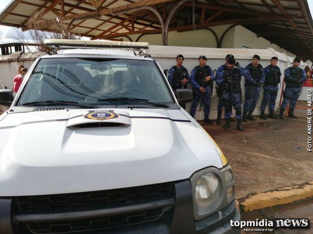 Segurança é reforçada para que foliões aproveitem Carnaval em Campo Grande