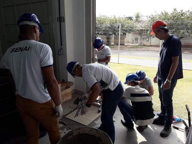 Escola Senai da Construção está com matrículas abertas para três cursos gratuitos