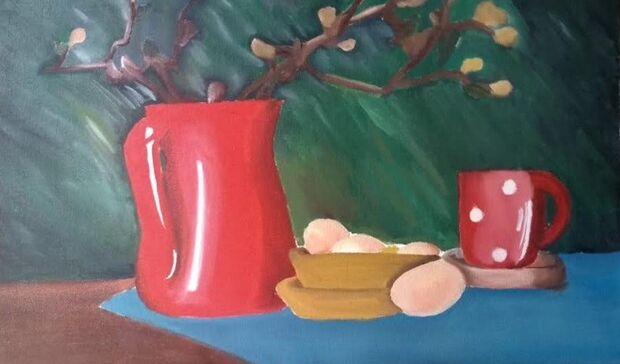 Oficinas gratuitas de pintura em tela serão oferecidas na biblioteca do Horto Florestal