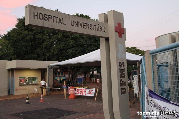 HU confirma paciente de nove meses com suspeita de meningite
