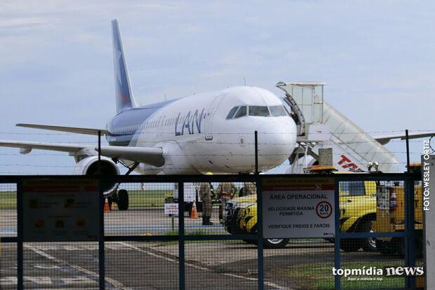 Aeroporto Internacional de Campo Grande opera normalmente nesta sexta-feira