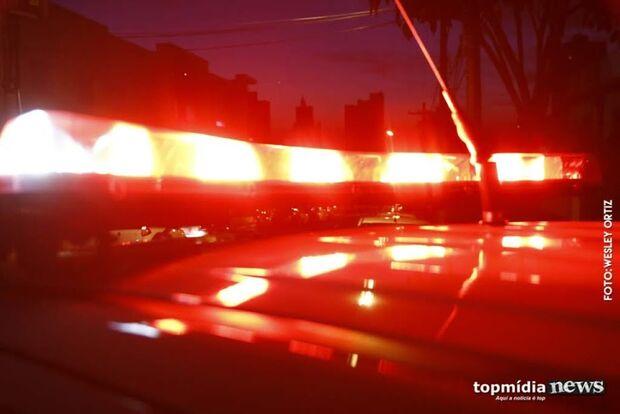 Ladrão é preso após roubar casa de ex-prefeito de Sidrolândia