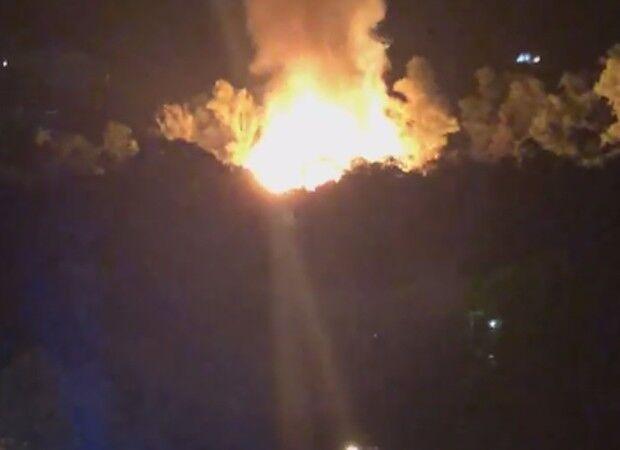 Incêndio destrói cidade cenográfica de novela da Globo