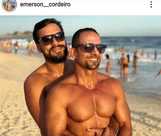Militar de Campo Grande publica foto com marido e vira alvo de homofobia