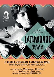 Marcelo Loureiro realiza show beneficente em Campo Grande